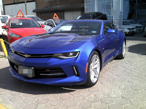 Chevrolet Camaro 3.7 Rs V6 Aut 2017 Turbo *enganche $104000