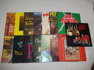 Lp Vinil Lote 15 Discos Poly