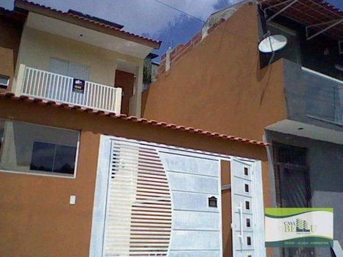 Casa Com 3 Dormitórios À Venda, 89 M² Por R$ 480.000 - Condomínio Real Park - Caieiras/sp - Ca0663