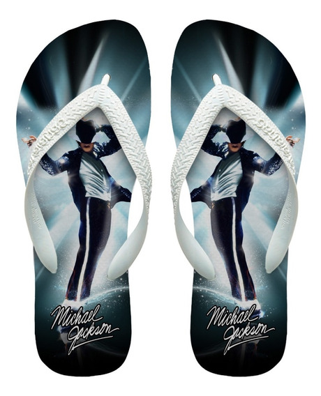 Chinelos Havaianas Personalizados Michael Jackson [1]