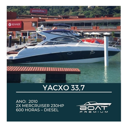 Yacxo 33,7 , 2010, 2x Mercruiser 230hp - Real - Sunseeker