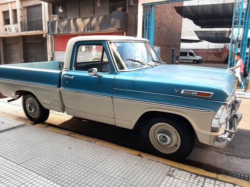 Ford F 100 V8 Punta De Diamante 1972