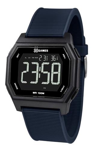 Relógio X-games Masculino Digital Xgppd114 Pxdx Quadrado