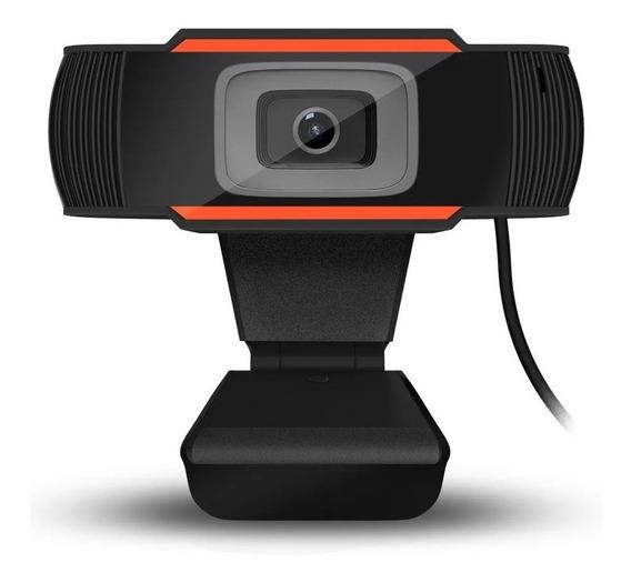Webcam Usb Com Microfone, Câmera Hd720p Pronta Entrega