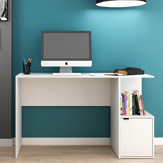 Mesa/escrivaninha De Computador Bc75 - Branco