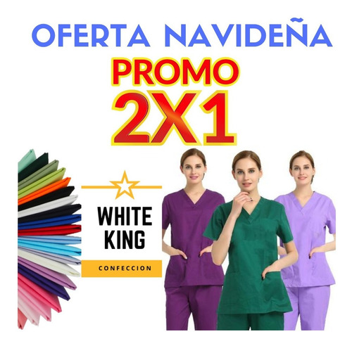 Uniforme Medico Enfermera Profesional Odontologo Conjunto