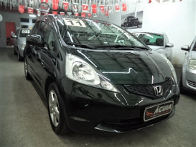 Honda Fit 1.4 Lx Flex Aut 2011 Completo + Airbags + Rd + Mp3