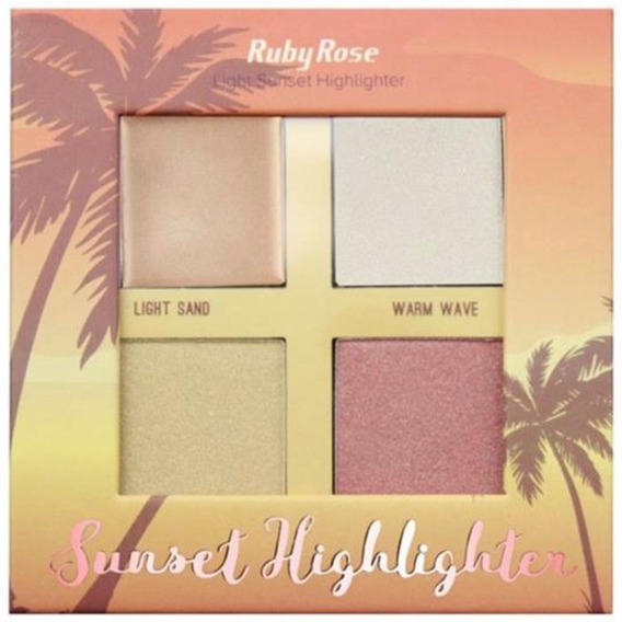 Iluminador Sunset Highlighter Light Hb7504 Light Ruby Rose
