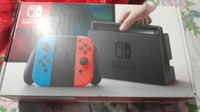 Nintendo Switch Desbloqueado Sd 64gb+32gb+jogos Semi Novo