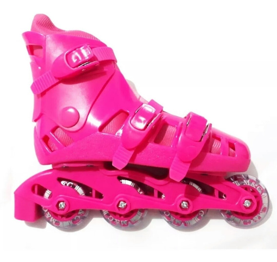 Patins Rosa Feminina Barato M&c Top