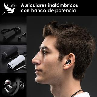Intylish Auriculares Inalámbricos Con Base De Carga
