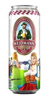 Caja X6 Cerveza Weidmann Dunkel Lata 500 Ml - 12 Canillas