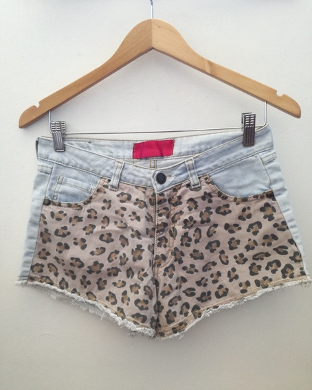 Short De Jeans Estapando