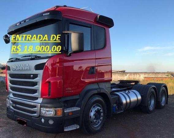 Scania 440 Optcruise 6x4 Ano 2012