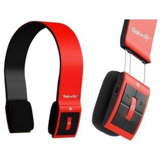 Fone Ouvido Bluetooth Sem Fio Headphone Rock In Rio Aquarius