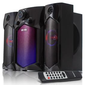 Caixa Som Home Theater Rca Usb Tv Fm Bluetooth 60w Bivolt