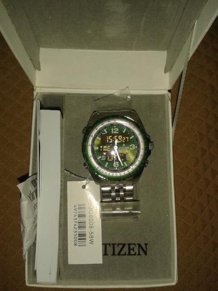 Relógio Citizen Wingman Promaster Jq8008-58w / Tz10075d