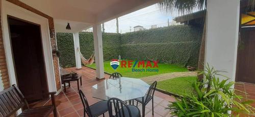 Casa Com 4 Dormitórios, 167 M² - Venda Por R$ 750.000,00 Ou Aluguel Por R$ 5.000,00/mês - Praia Da Enseada - Guarujá/sp - Ca0270