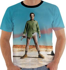 Camiseta Gw Breaking Bad Walter White Metanfetamina Color