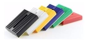 Mini Protoboard 170 Pontos Breadboard Prototipos Arduino