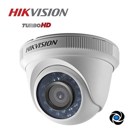 Camara Domo Cctv Hikvision 720p 1mp Hd Tvi Cvi Ahd Interior Seguridad Gran Angular