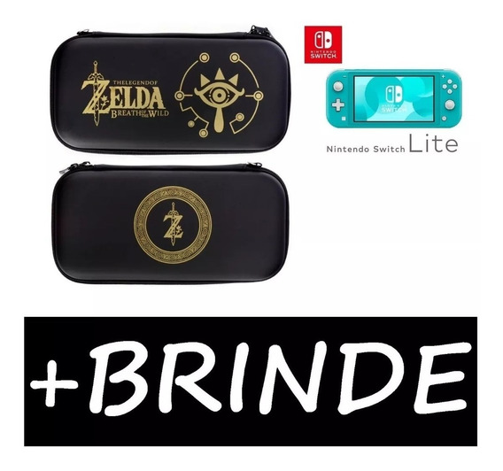 Case Nintendo Switch Lite Zelda - Link + Película De Binde