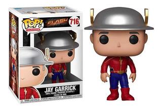 Funko Pop ! Jay Garrick Dc Comics The Flash #716 Original