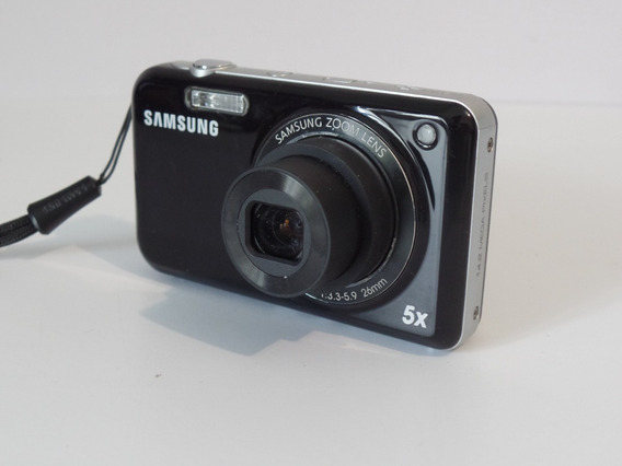 Camera Fotográfica Samsung Pl-120 Ótimo Estado + Brindes