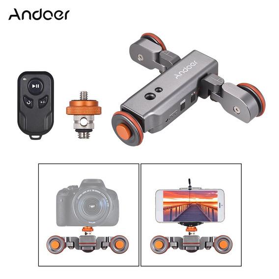 Andoer L4 Pro Cmara De Video Motorizada Dolly Con
