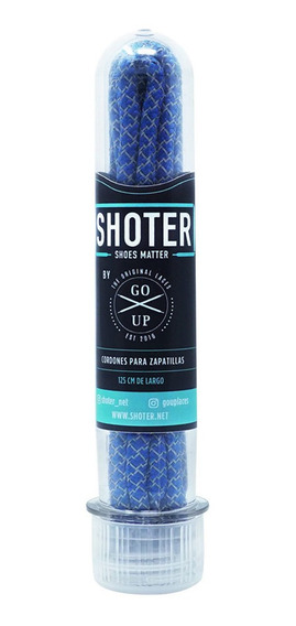 Shoter Cordones Reflectivos Azul By Go Up Laces