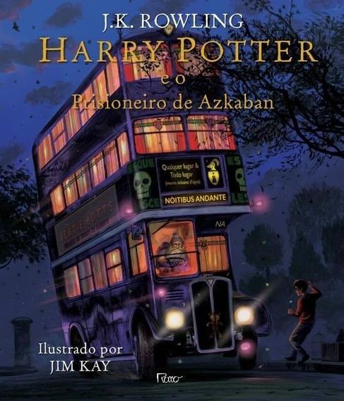 Harry Potter E O Prisioneiro De Azkaban - Ilustrado C. Dura