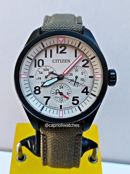 Relógio Citizen Eco-drive Chandler Bu2055-08x Semi Novo Top