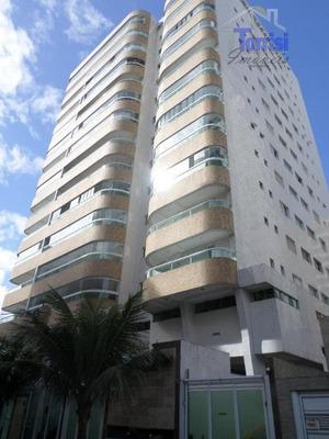 Apartamento Em Praia Grande, 02 Dormitórios Sendo Suítes, Varanda Gourmet Na Tupi Ap0843 - Ap0843