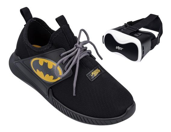 Tênis Infantil Batman Com Óculos De Realidade Virtual