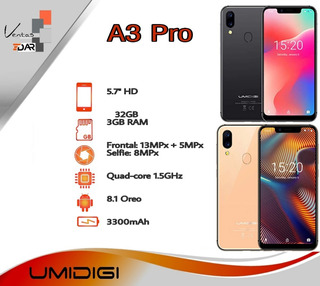 Umidigi A3 Pro / 32gb+3gb Ram. Nuevo 100 Vrds