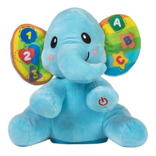 Peluche Didactico Aprendiendo Con Mi Elefante Winfun 0695