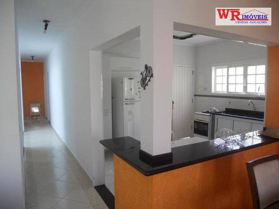 Casa Com 4 Dormitórios À Venda, 170 M² Por R$ 500.000 - Parque Balneário Oásis - Peruíbe/sp - Ca0322