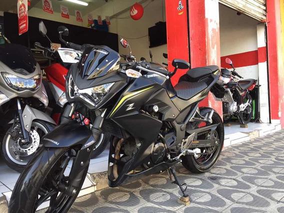 Kawasaki Z300abs Ano 2019 Preta