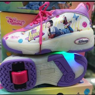 Zapatos Con Rueda Y Luces De Soy Luna Tallas 28 Al 38
