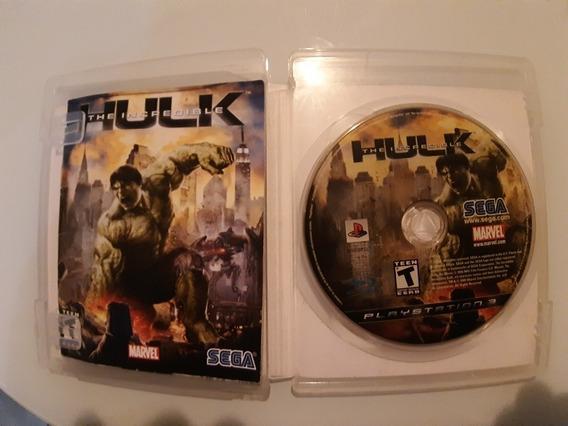 Hulk Ps3 Midia Fisica