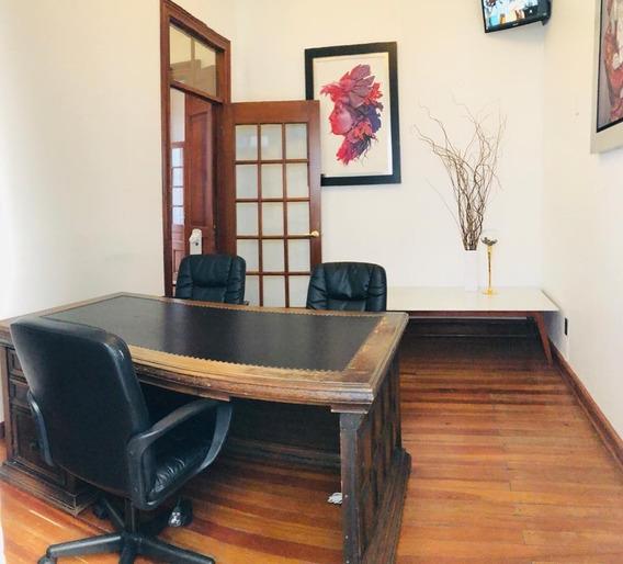 Oficina Con Terraza Privada En Casa Porfiriana Col. Juárez
