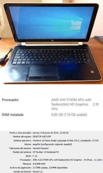Laptop Hp Pavilion Notebook