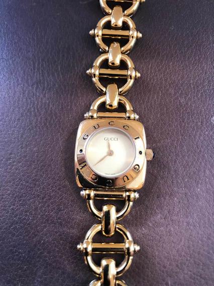 Reloj Gucci De Dama Perfecto Estado Muñeca Chica Precioso