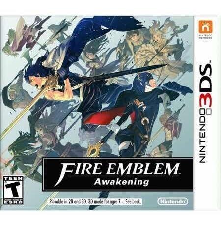 Fire Emblem Awakening Nintendo 3ds Ótimo Estado