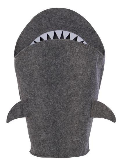 Shark Cesto 63 Cm X 39 Cm Cinza
