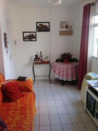 Apartamento Com 1 Dorm, Centro, São Vicente - R$ 165 Mil, Cod: 873 - V873