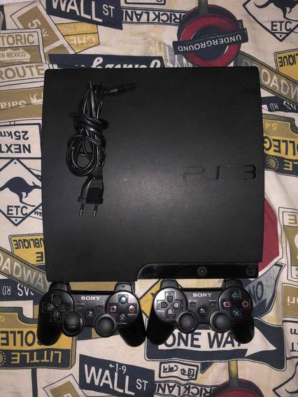 Playstation 3 + 15 Jogos Originais E Desbloqueado