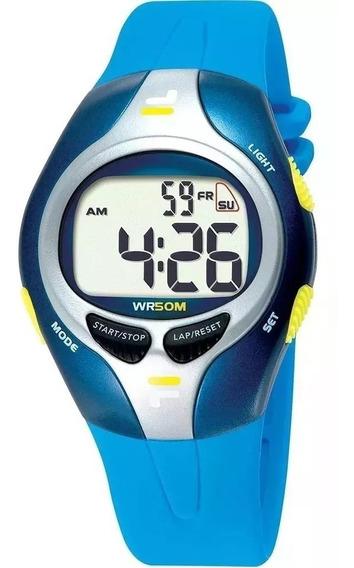 Relógio Unissex Fila Digital Esportivo Fl459-03
