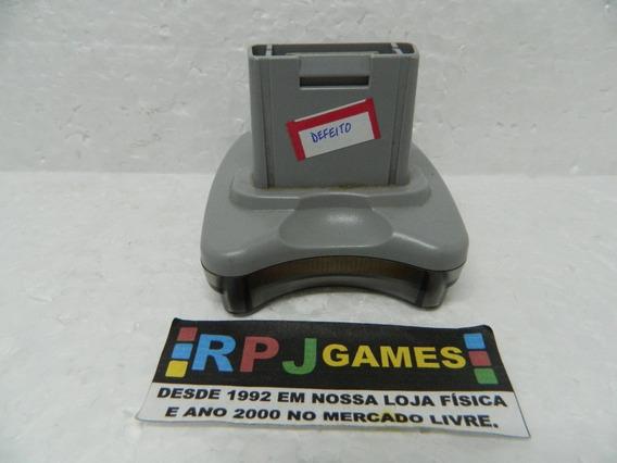Transfer Pak Com Defeito Original P/ Nintendo 64 N64
