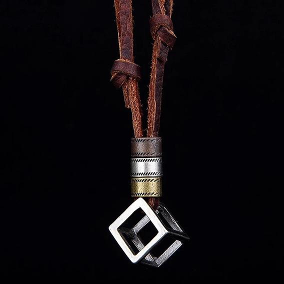 Collar Para Hombre Infinity War Cubo Moda